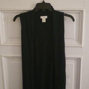 Flowy 100% 2-ply cashmere cardigan